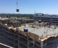 Phase3: Concrete forming at roof level